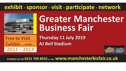 Manchester Biz Fair event logo