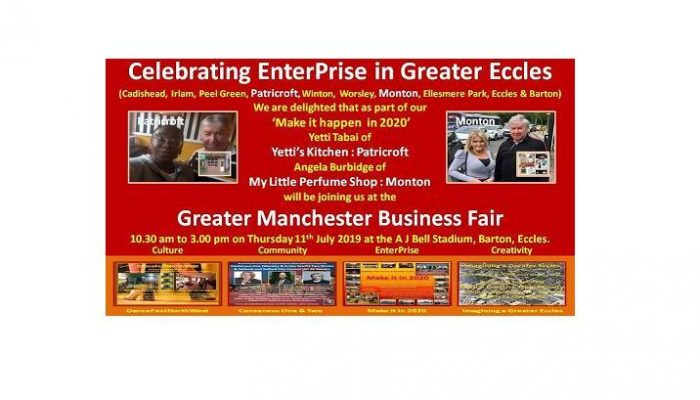 Celebrating Greater Eccles Manchester Biz Fair