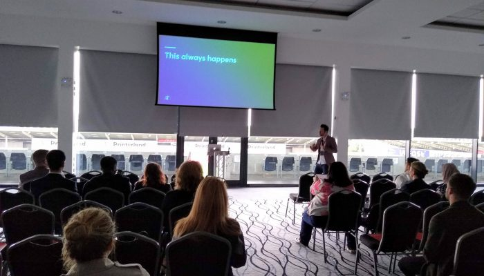 Tom-Jacobs-of-Distract-Presentation-Manchester-Biz-Fair-2019